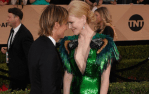 Keith Urban And Dolly Parton Support Partners At SAG Awards