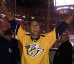 Luke Bryan Performs The National Anthem As Nashville Predators Sweep Blackhawks
