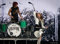 Halestorm Download Festival 2012