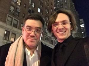 Fedor with Alan Gilbert