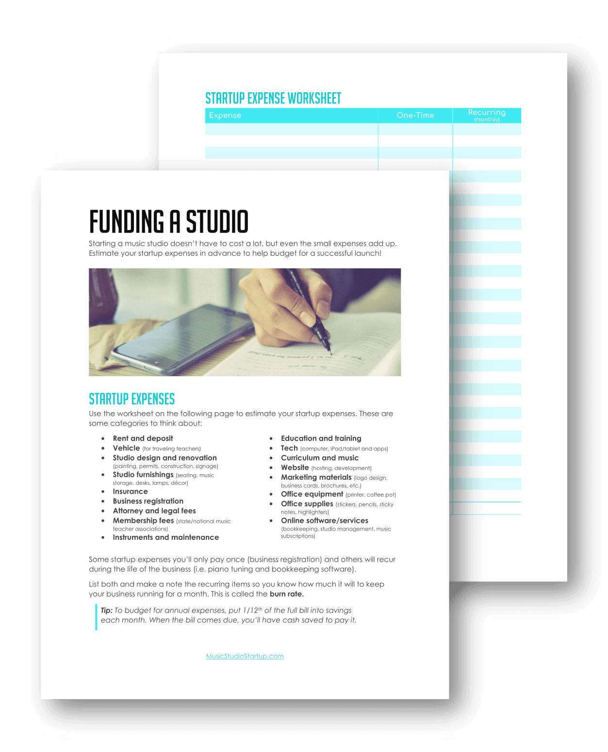 Creating A Music Studio Financial Plan