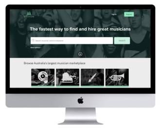Music News Website