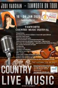 Jodi Vaughan to Perform Tamworth Country Music Festival for the First Time