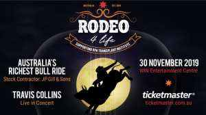 Elite Bull Riding Superstars Raising Bucks For Charity in Australia's Richest Bull Ride Rodeo Spectacular!