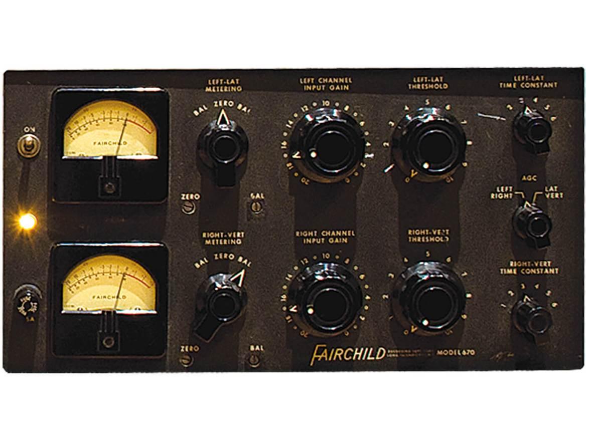 Vintage Rewind: Fairchild 660 and 670 | MusicTech