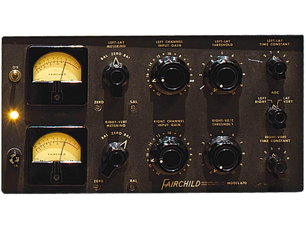 Vintage Rewind: Fairchild 660 and 670   MusicTech
