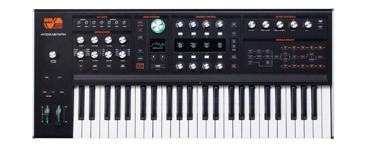 Ashun Sound Machines Hydrasynth keyboard version landscape