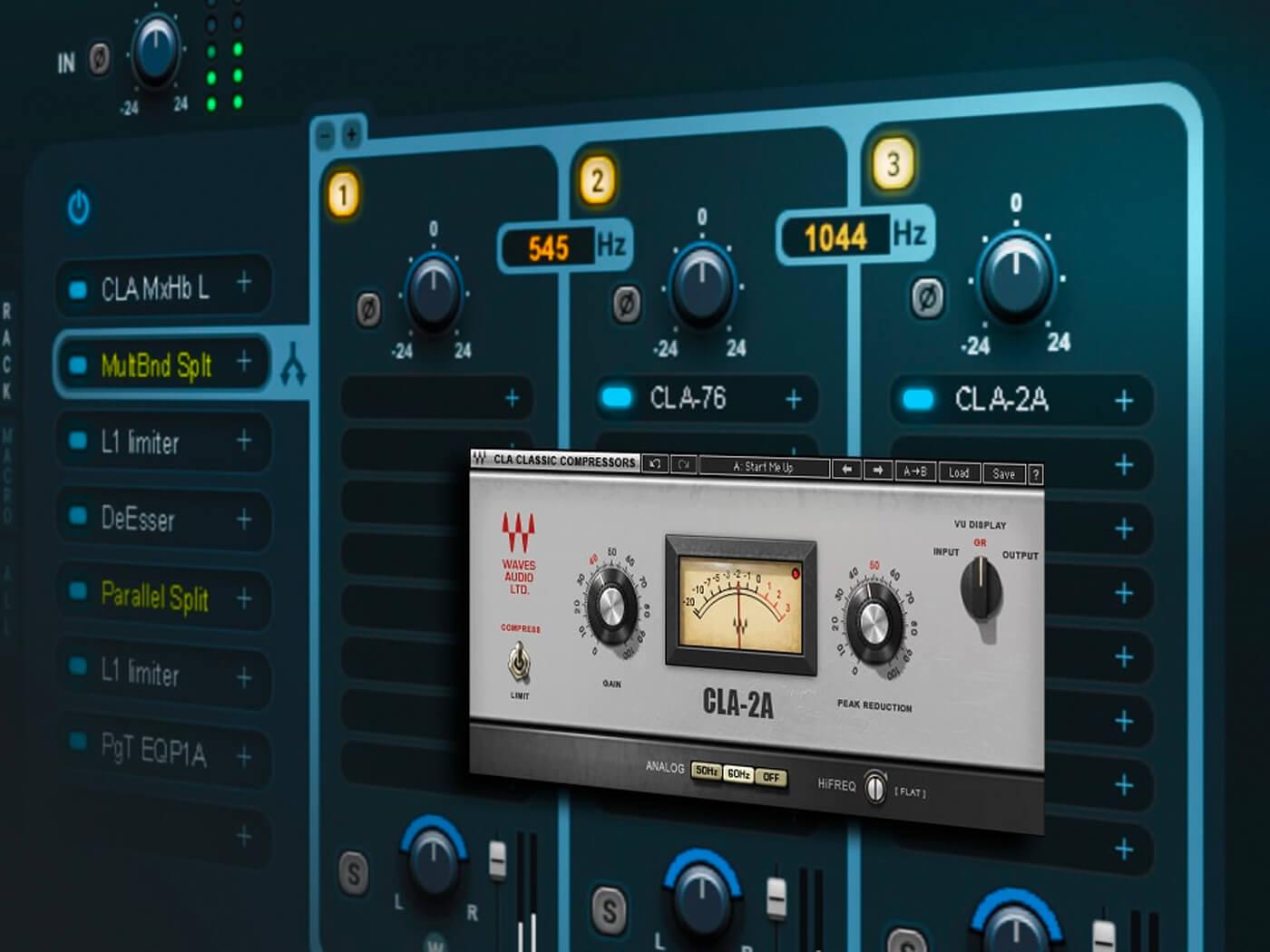 waves enhanced studiorack musictech