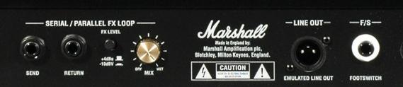 Boucle d'effets ampli Marshall