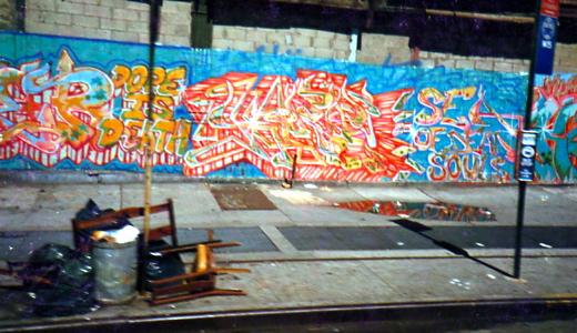 1986 fresque à Harlem