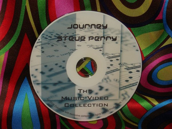 Journey & Steve Perry Music Video Anthology & Live 2008 (1 Hr. 45 Mins.)