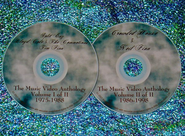 Split Enz / Lloyd Cole and The Commotions / Tim Finn / Crowded House / Neil Finn The Music Video Anthology 1975-1998 (2 DVD Set)