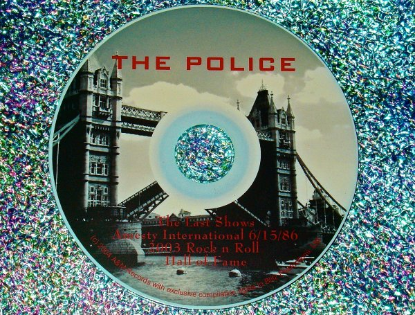 """The POLICE LIVE Video Archive """"The Last Concerts"""" 1986-2003 Volume II (2 Hours)"""