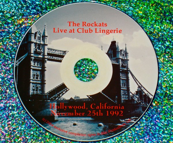 THE ROCKATS Live at Club Lingerie (Hollywood, California) Rockabilly Video Archives Volume III