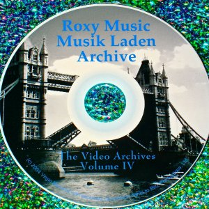 Roxy Music (Bryan Ferry): MusikLaden Germany Video Archives Volume IV
