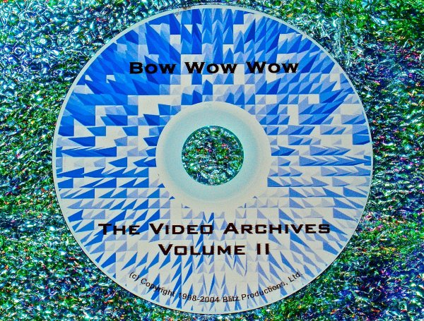 Bow Wow Wow & Anabella Lwin Solo Video Archives Volume II