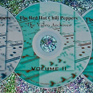 Red Hot Chili Peppers Video Archives 1984-2014 5 DVD Set (9 Hours)