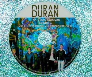 "DURAN DURAN – The Video Archives 2015 ""Paper Gods"" VOLUME L"