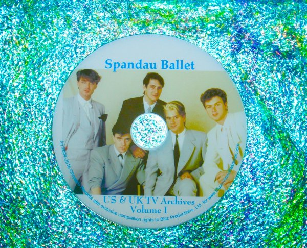 SPANDAU BALLET Video Archives 1983-1984 VOLUME I