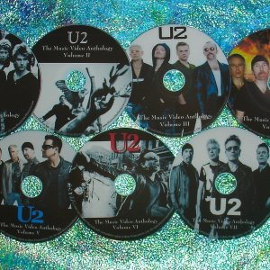U2 Bono (Solo) The Passengers Music Video & Remix Anthology 1981-2015 (7 DVD Set 13 Hours) 136 MUSIC VIDEOS including RISE ABOVE! & I'LL GO CRAZY!