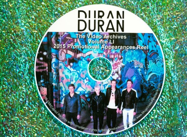 "DURAN DURAN – The Video Archives 2015 ""Paper Gods"" VOLUME LI"