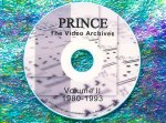 Prince The LIVE Video Archives 1980-1993 Volume II