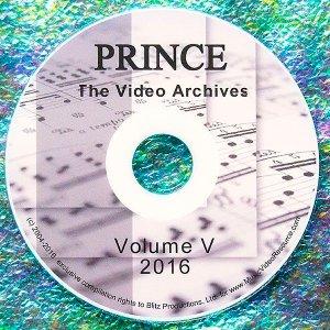 Prince The LIVE Video Archives 2016 Volume V (Memorial Reel)