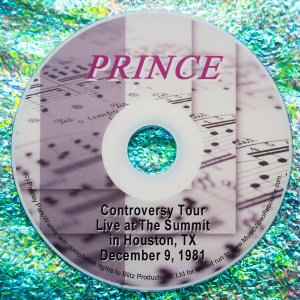 Prince Controversy Tour at the Summit in Houston, TX on December 9, 1981 (EXTREMELY RARE)