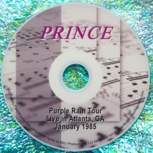 Prince Purple Rain Tour, Live in Atlanta, GA January 1985