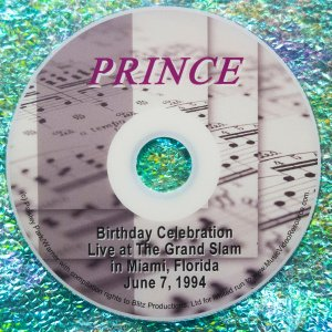 Prince's Birthday Celebration Live at The Glam Slam in Miami, Florida June 7, 1994