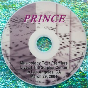 Prince Musicology Tour Premiere Live at the Staples Center in Los Angeles, CA March 29, 2004