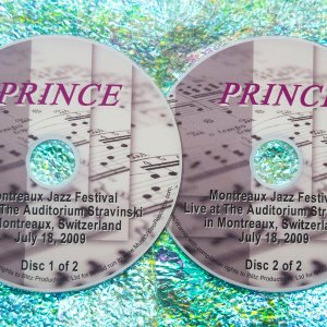 Prince Live at The Montruex Jazz Festival at the Auditorium Stravinski in Montruex, Switzerland on July 18, 2009 2 DVD Set