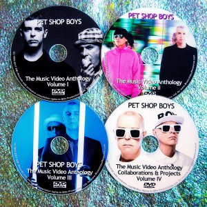 Pet Shop Boys and Electronic The Music Video & Remix Anthology 1986-2017 (4 DVD 7.5 Hours)