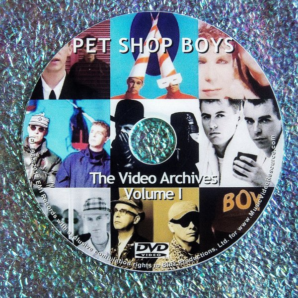 Pet Shop Boys The Video Archive Collection 1986-2016 (6 DVD Set)