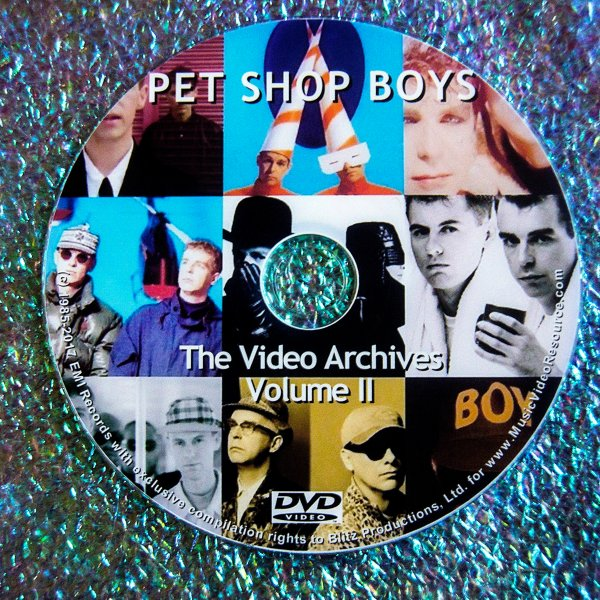 PET SHOP BOYS The VIDEO ARCHIVES  VOLUME II