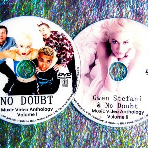 "No Doubt / Gwen Stefani Music Video Anthology 1993-2017 (2 DVD Set 4 Hours) Includes Gwen Stefani solo ""Used to Love You"", ""Make Me Like You"", ""Misery"" and ND with ""Settle Down"" and ""Push & Shove"""
