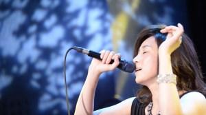 藤吉久美子、出身地・福岡で2度目の音楽ライブ