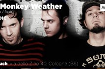 The Monkey Weather (Indie Rock) - 4 Dicembre, Bierbauch, Cologne (BS)