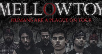 Mellowtoy - Humans Are A Plague Tour - Music Wall