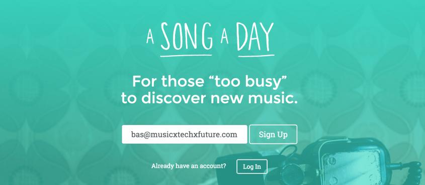 A Song a Day screenshot