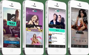 MTV Trax screens