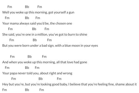 Old Fashioned Feeling Good Michael Buble Chords Elaboration Basic