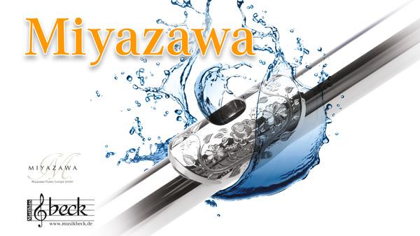 Miyazawa Flöten Präsentation im Musikhaus Beck