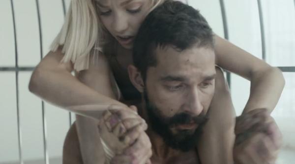 Sia feat. Shia LaBeouf & Maddie Ziegler - Elastic Heart (Credit: Sia & Daniel Askill)