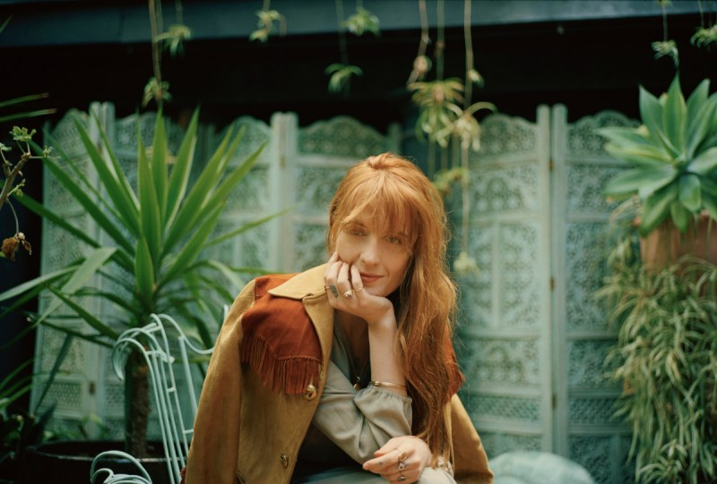 Florence + The Machine (Credit Vincent Haycock)