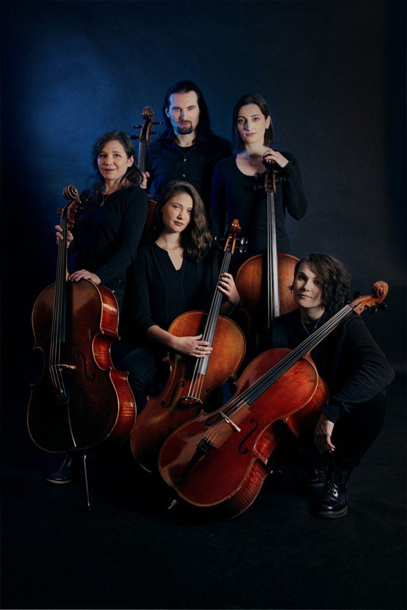 Cellotic Soundtrack Ensemble (Credit Ann Phoenix Art)