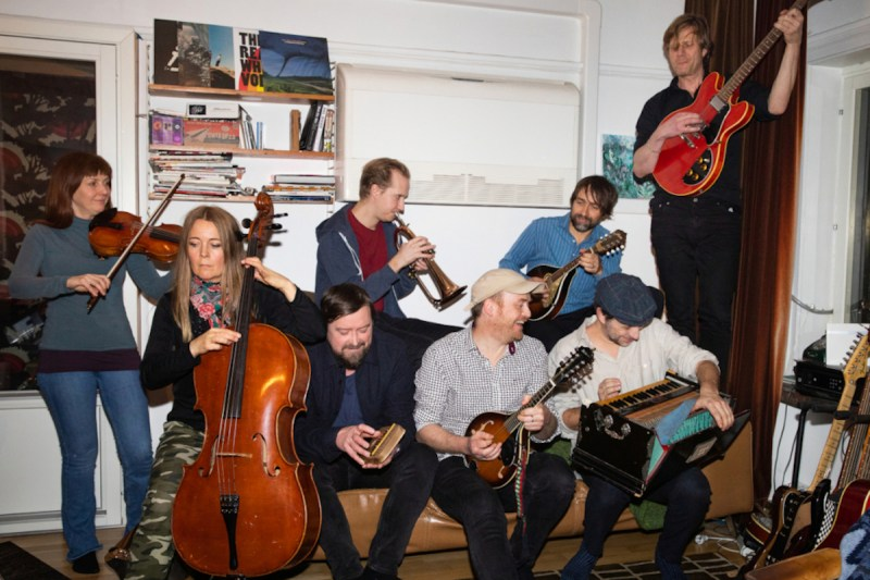 James Yorkston & The Second Hand Orchestra (Credit Nadja Hallström)