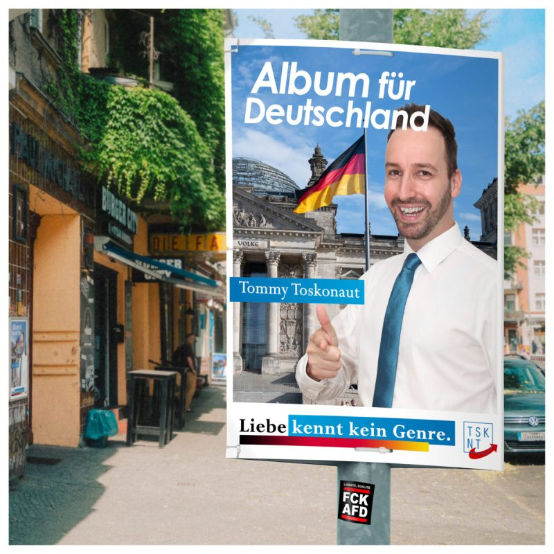 Tommy Toskonaut - Album für Deutschland