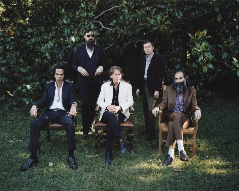 Nick Cave And The Bad Seeds (Credit Cat Stevens)