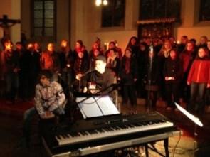 Weihnachtskonzert mit Frank Wedel und dem Gospelchor der Musikerfabrik